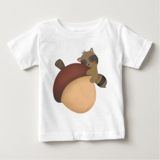 Little Racoon Baby Baby T-Shirt