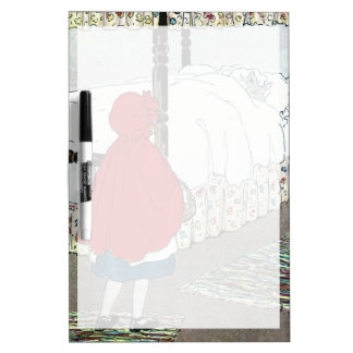 Little Red Riding Hood: What Grat Ears You Have! Dry Erase Board
