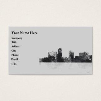 LITTLE ROCK,ARKANSAS SKYLINE BUSINESS CARD