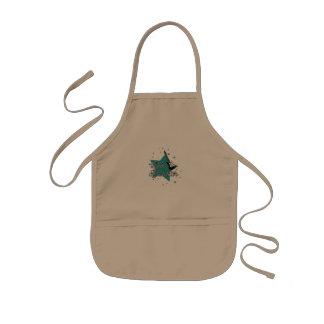 little rockstar kids apron