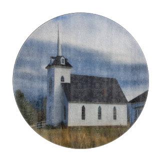 LITTLE SHASTA CHURCH CUTTING BOARD
