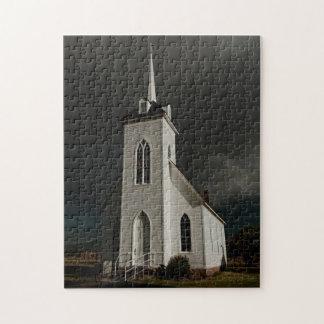 LITTLE SHASTA CHURCH JIGSAW PUZZLE