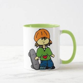Little Skater Girl #3 Mug