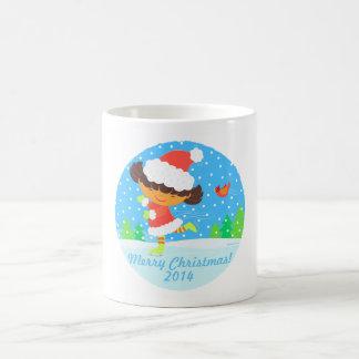 little skater holdiay keepsake mug