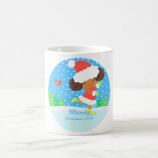 little skater holiday mug