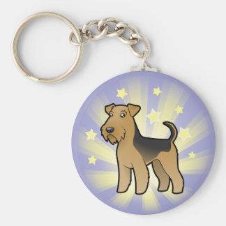 Little Star Airedale Terrier / Welsh Terrier Key Ring