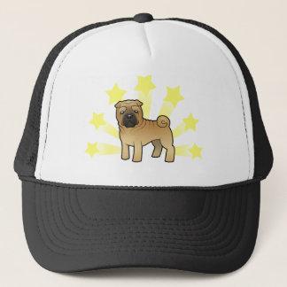 Little Star Shar Pei Trucker Hat