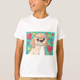 Little Tan and White Dog T-Shirt