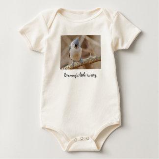 Little Tweety, Grammy's little tweety. Baby Bodysuit