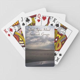 Little Tybee Island Beach at Sunrise | Savannah Playing Cards