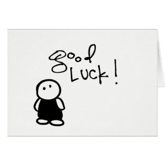 little wobblies good luck card