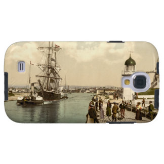 Littlehampton Pier and Harbour, England Galaxy S4 Case