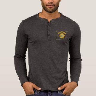 """""""Live a Fuller Lyphe"""" Logo Men's Henley Shirt"""
