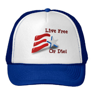 Live Free or Die - Hat