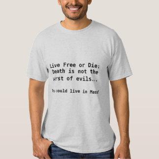 Live Free or Die Tees