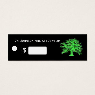 Live Green Merchandise Price Tags