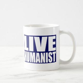 Live Humanist Basic White Mug