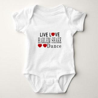 LIVE LOVE HARLEM SHAKE DANCE BABY BODYSUIT