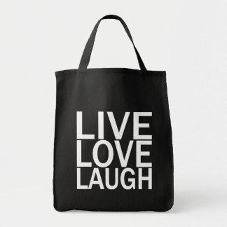 Live Love Laugh totebag Tote Bag