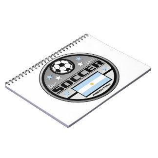 Live Love Soccer Argentina Notebook