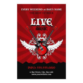 Live Music Concert / Party flyer