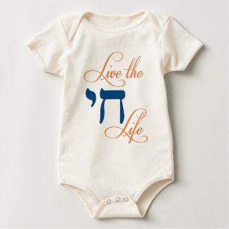 Live the Chai Life Baby Bodysuit