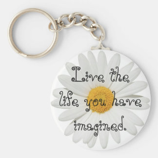 Live the Life Key Chain