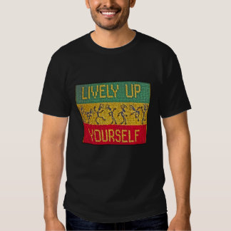 lively reggae dance t tee shirts