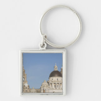 Liver Building, Liverpool, England Key Ring