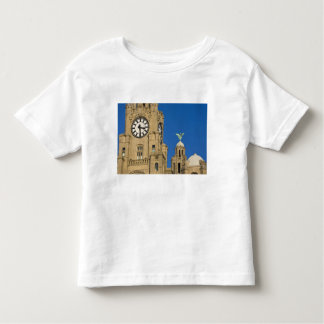 Liver Building, Liverpool, Merseyside, England Toddler T-Shirt