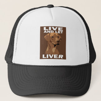 Liver nosed & Light Wheaten Ridgeback items Trucker Hat