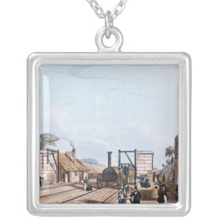 Liverpool and Manchester Railway: Silver Plated Necklace