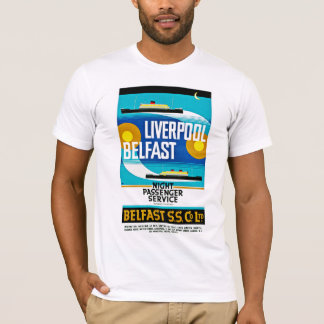 Liverpool - Belfast Ferry T-Shirt