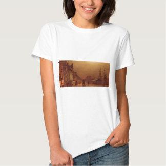 Liverpool Customs House by John Atkinson Grimshaw T-shirts