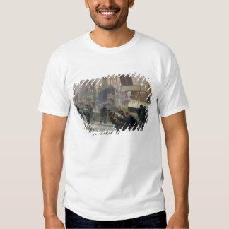 Liverpool Dockers at Dawn, 1903 Tee Shirt
