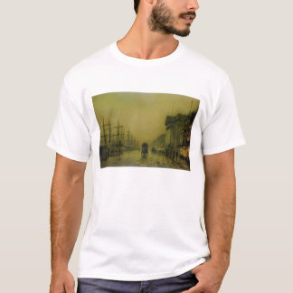 Liverpool Docks Customs House and Salthouse Docks, T-Shirt