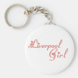 Liverpool Girl Key Ring