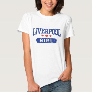Liverpool Girl T Shirts