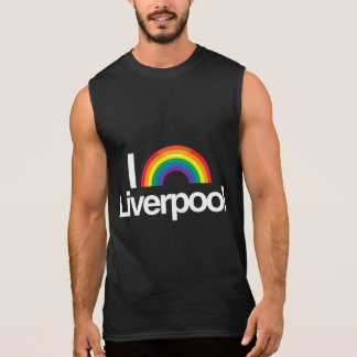 LIVERPOOL - I LOVE PRIDE -.png Sleeveless T-shirts