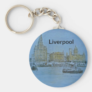 Liverpool Mersey Keychain by Colin Carr-Nall