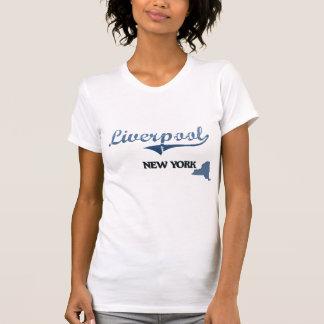Liverpool New York City Classic Tee Shirts