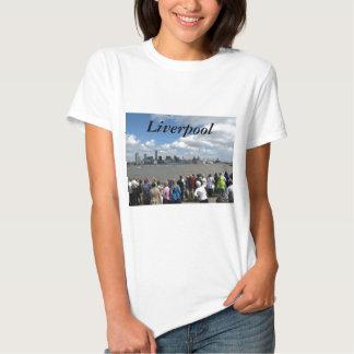 Liverpool Skyline Tee Shirt