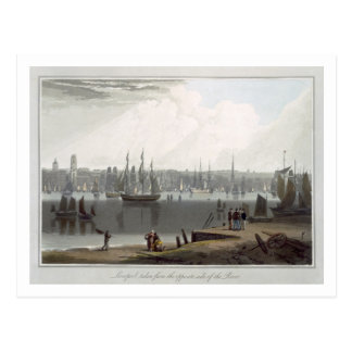 Liverpool, taken from the opposite side of the riv postcard