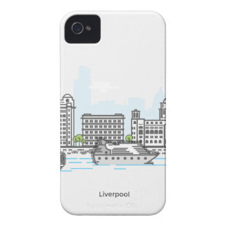 Liverpool Waterfront iPhone 4 Case-Mate Case