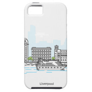 Liverpool Waterfront iPhone 5 Covers