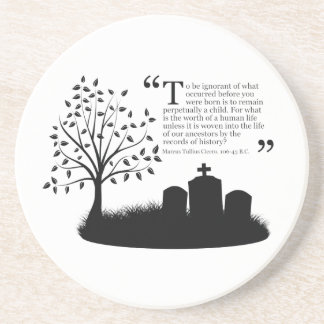 Lives Of Our Ancestors Coaster
