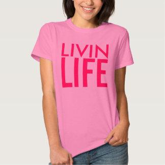 Livin Life Ladies Top Tshirts