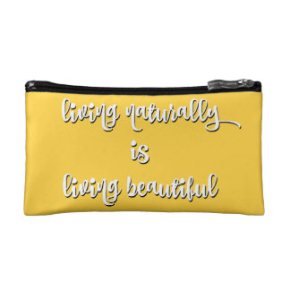 Living Beautiful Hair Emergency Kit Cosmetic Bag
