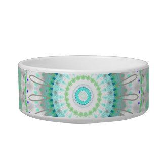 Living Green Mandala kaleidoscope pet bowl
