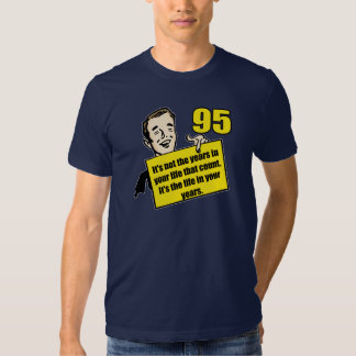 Living Life 95th Birthday Gifts Tees